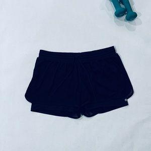 EUC Black XL 2-in-1 Running Shorts
